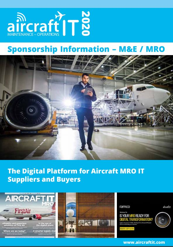 Aircraft IT MRO sponsorship front cover